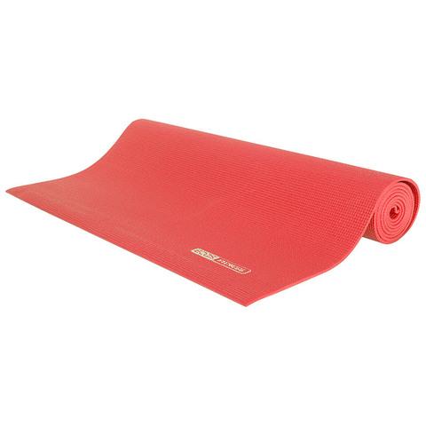 Коврик для йоги из PVC 183x61x0,4 коралловый