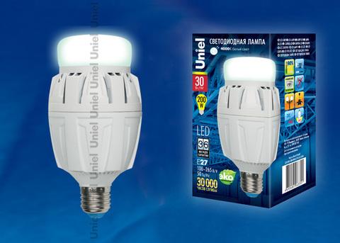 LED-M88-30W/NW/E27/FR ALV01WH картон