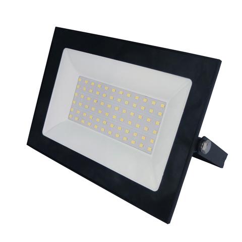 ULF-F21-70W/3000K IP65 200-250В BLACK Прожектор светодиодный. Теплый белый свет (3000К). Корпус черный. TM Uniel