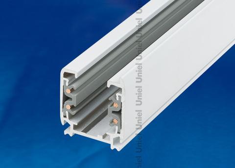 UBX-AS4 WHITE 100 POLYBAG Шинопровод осветительный, тип А. Трехфазный. Цвет — белый. Длина 1 м. Упаковка — полиэтиленовый пакет.