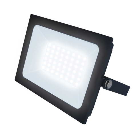 ULF-F21-50W/4000K IP65 200-250В BLACK Прожектор светодиодный. Белый свет (4000K). Корпус черный. TM Uniel