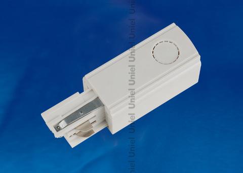 UBX-A01 WHITE 1 POLYBAG Ввод питания для шинопровода. Трехфазный. Правый. Цвет — белый. Упаковка — полиэтиленовый пакет.