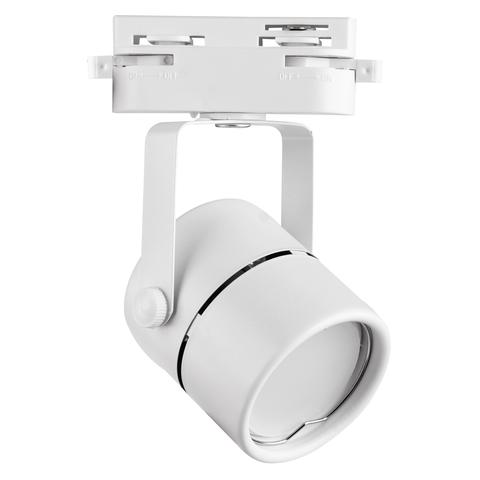 UBL-Q321 GU10 WHITE Светильник-прожектор трековый. Под лампу GU10. Корпус белый. ТМ Volpe
