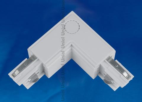 UBX-A21 SILVER 1 POLYBAG Соединитель для шинопроводов L-образный. Внешний. Трехфазный. Цвет — серебряный. Упаковка — полиэтиленовый пакет.