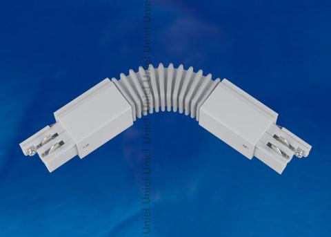 UBX-A24 SILVER 1 POLYBAG Соединитель для шинопроводов. Гибкий. Трехфазный. Цвет — серебряный. Упаковка — полиэтиленовый пакет.