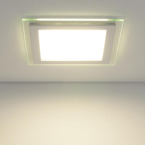 Встраиваемый светодиодный светильник DLKS160 12W 4200K белый
