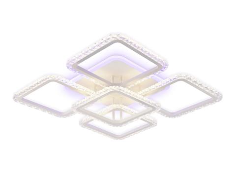 Потолочный светодиодный светильник с пультом FA5301 WH белый 140W 770*770*130 (ПДУ РАДИО 2.4)