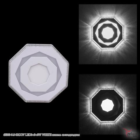 45333-9.0-001XW LED3+3+3W WHITE панель светодиодная