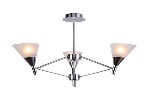 Потолочный светильник Escada 650/3P E14*40W White/Chrome