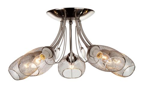 Потолочный светильник Escada 654/5P E14*60W Satin nickel