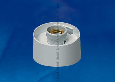 UFP-А01AE WHITE Основание для садово-парковых светильников. Тип соединения с рассеивателем - резьбовой. Встроенный патрон Е27. Материал - пластик. Цвет - белый. Упаковка - картон.