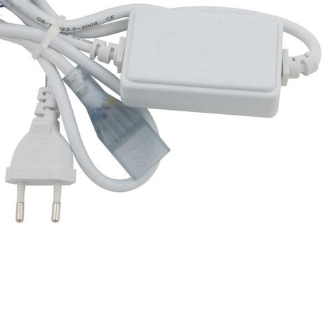UCX-Q220 SP4/B67-RGB WHITE 1 STICKER Провод электрический для подключения RBG светодиодных лент ULS-5050 сетевого напряжения к сети 220В. 7х14мм.