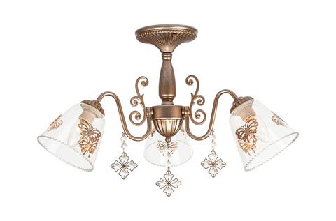 Потолочный светильник Escada 656/3PL E27*60W Gold