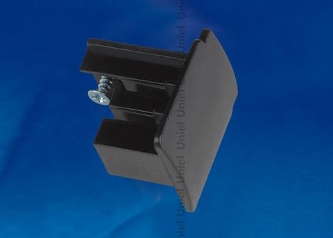 UFB-C41 BLACK 1 POLYBAG Заглушка торцевая для шинопровода. Цвет — черный. Упаковка — полиэтиленовый пакет.