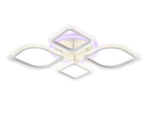 Потолочный светодиодный светильник с пультом FA5147 WH белый 77W 680*630*90 (ПДУ РАДИО 2.4)