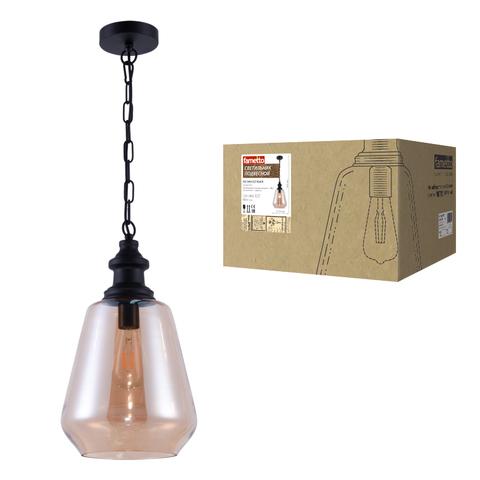 DLC-V405 E27 BLACK Светильник декоративный подвесной ТМ