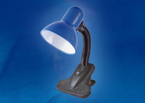 TLI-202 Светильник настольный. Цоколь E27. Цвет синий