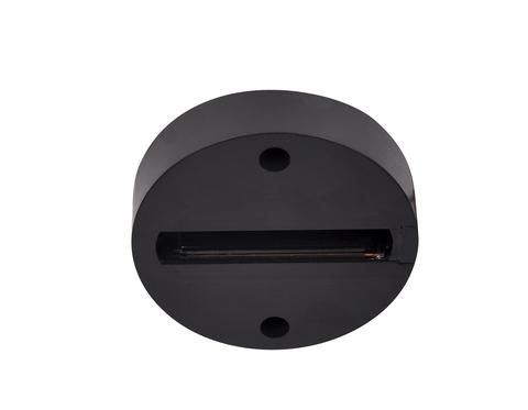 Основание отдельное для монтажа трекового однофазного светильника GL7022 BK черный
