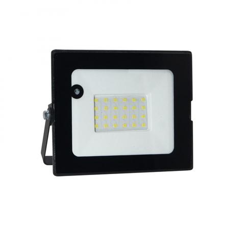 ULF-Q514 30W/6500K SENSOR IP65 220-240В BLACK Прожектор светодиодный с датчиком движения и освещенности. Дневной свет (6500K). Корпус черный. TM Volpe.