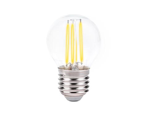Светодиодная лампа Filament LED G45-F 6W E27 4200K (60W)