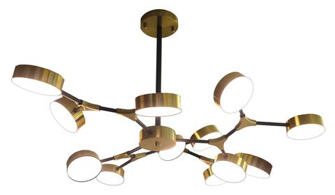 Потолочный светильник Escada 10239/12 LED*84W Copper gold