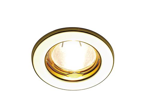 Встраиваемый точечный светильник FT9210 GD золото MR16