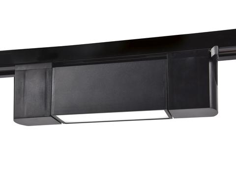Трековый однофазный светодиодный светильник GL6660 BK черный LED 6W 4200K