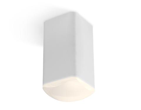 Комплект накладного светильника с акрилом XS7820022 SWH/FR белый песок/белый матовый MR16 GU5.3 (C7820, N7756)