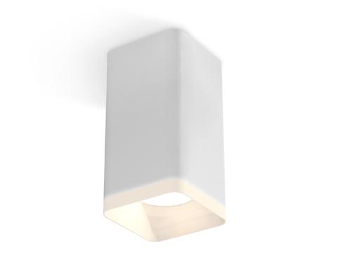 Комплект накладного светильника с акрилом XS7820021 SWH/FR белый песок/белый матовый MR16 GU5.3 (C7820, N7755)