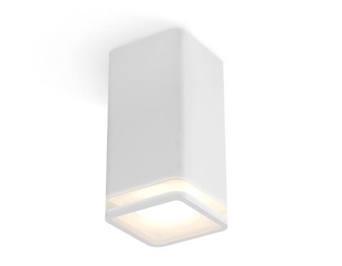 Комплект накладного светильника с акрилом XS7820020 SWH/FR белый песок/белый матовый MR16 GU5.3 (C7820, N7750)
