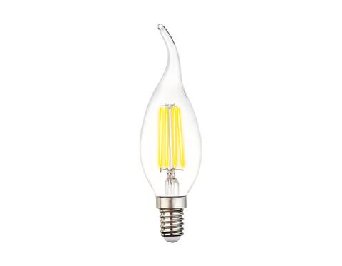 Светодиодная лампа Filament LED C37L-F 6W E14 4200K (60W)
