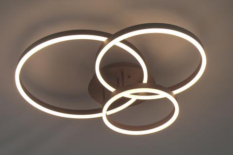 Потолочный светильник Escada 10207/3 LED*70W Coffee