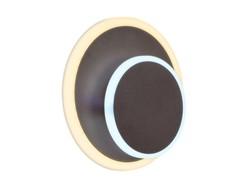 Настенный светодиодный светильник FW107 CF кофе LED 3000K/6400K 15W 240*190*50