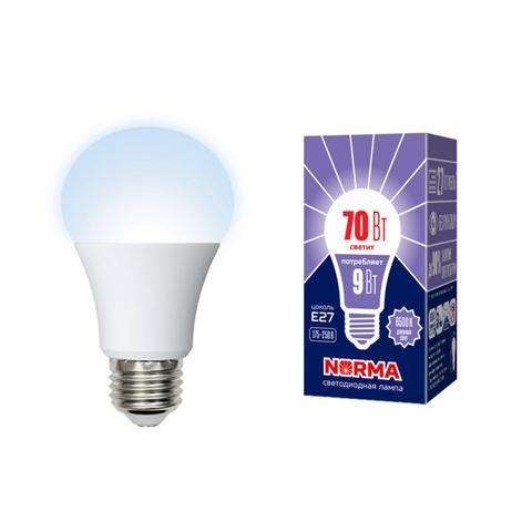 LED-A60-9W/6500K/E27/FR/NR Лампа светодиодная. Форма