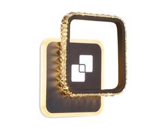 Настенный светодиодный светильник FA232 CF кофе LED 4200K/4200K/6400K 30W 210*210*50