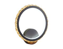 Настенный светодиодный светильник с выключателем FA212 CF кофе LED 3000K+6400K 15W 230*250*45
