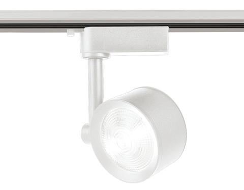 Трековый однофазный светодиодный светильник GL6389 WH белый LED 12W 4200K 24°