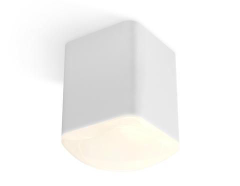 Комплект накладного светильника с акрилом XS7812022 SWH/FR белый песок/белый матовый MR16 GU5.3 (C7812, N7756)