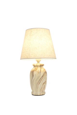 Настольный светильник Escada 10183/L E27*60W Cream marble