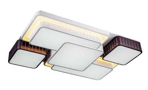 Потолочный светильник Escada 10208/5 LED*128W White/Coffee