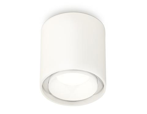 Комплект накладного светильника с акрилом XS7722015 SWH/FR белый песок/белый матовый MR16 GU5.3 (C7722, N7165)