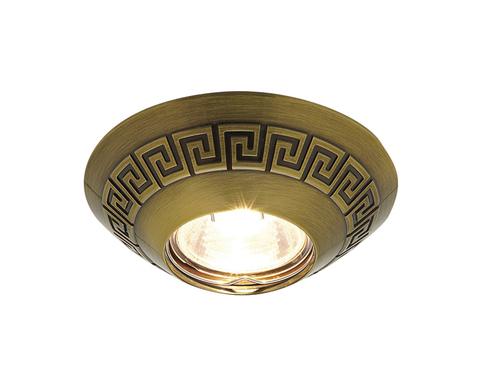 Встраиваемый точечный светильник D1158 SB бронза MR16