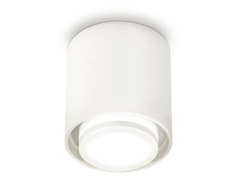Комплект накладного светильника с акрилом XS7722016 SWH/FR белый песок/белый матовый MR16 GU5.3 (C7722, N7120)