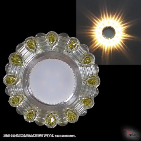 14301-9.0-001LD MR16+LED3W WT/YL светильник точ.
