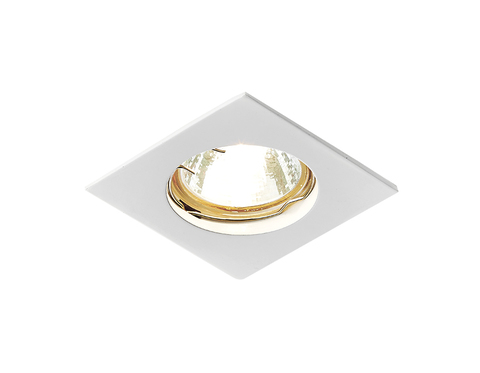 Встраиваемый точечный светильник 866A WH белый MR16