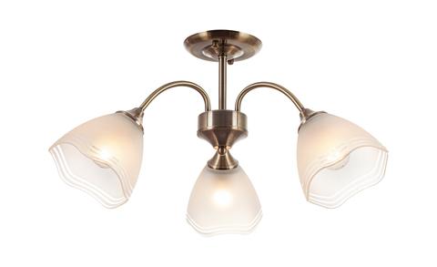 Потолочный светильник Escada 1101/3P E27*60W Brass