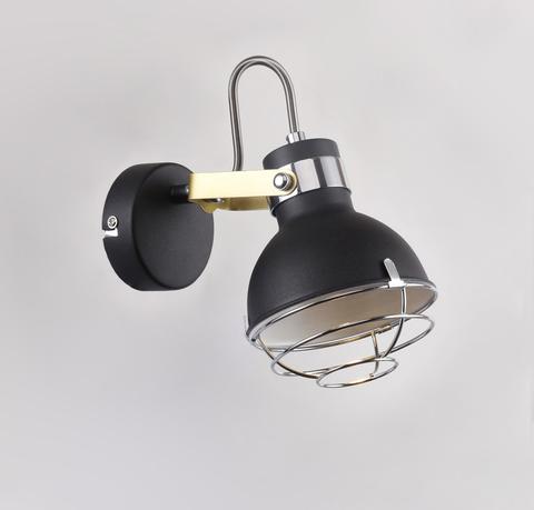 Настенный светильник Escada 1135/1A E14*40W Black/Chrome
