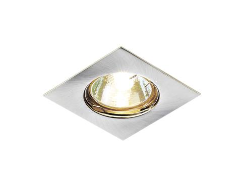 Встраиваемый точечный светильник 866A SS сатин серебро