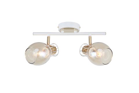 Настенный светильник Escada 1137/2A E14*40W White/Gold