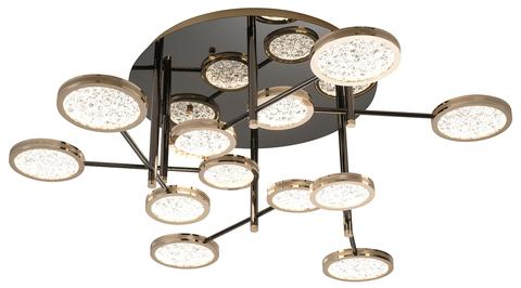 Потолочный светильник Escada 10240/12 LED*96W Gold/Shiny black